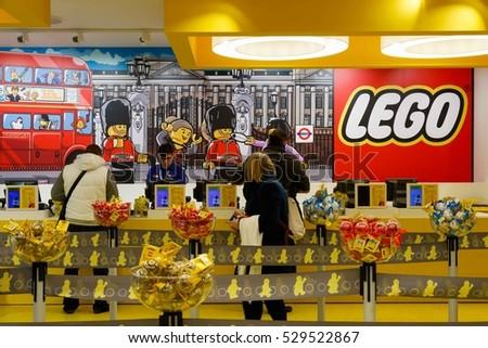 London Uk November 22 2016 Customers Stock Photo 529522867 ...