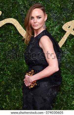 LONDON, UK - NOVEMBER 23, 2015: Stella McCartney at the British Fashion Awards 2015 at the Coliseum Theatre, London. November 23, 2015  London, UK Picture: Steve Vas / Featureflash - stock photo