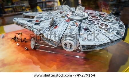 London Uk November 2017 New Lego Stock Photo (Royalty Free ...