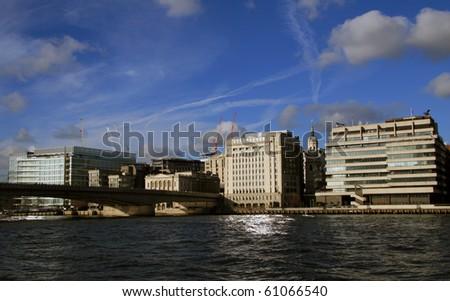 london view - stock photo