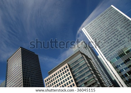 Londons financial district