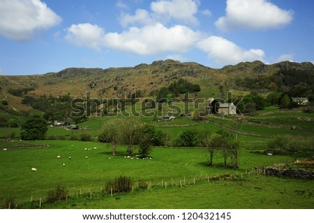 Lonely Farmhouse - stock photo