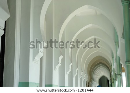 long arches - stock photo