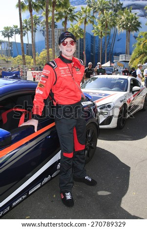 LONG BEACH - APR 18: John Rzeznik at the Toyota Grand Prix Of Long Beach Pro/Celebrity Race - Race Day on April 18, 2015 in Long Beach, California - stock photo