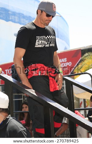 LONG BEACH - APR 18: Joshua Morrow at the Toyota Grand Prix Of Long Beach Pro/Celebrity Race - Race Day on April 18, 2015 in Long Beach, California - stock photo
