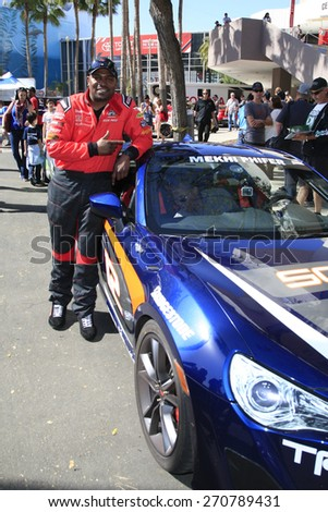 LONG BEACH - APR 18: Mekhi Phifer at the Toyota Grand Prix Of Long Beach Pro/Celebrity Race - Race Day on April 18, 2015 in Long Beach, California - stock photo
