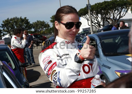 LONG BEACH, CA - APRIL 3: Kate Del Castillo at the 36th Annual 2012 Toyota Pro/Celebrity Race - Press Practice Day on April 3, 2012 in Long Beach, California