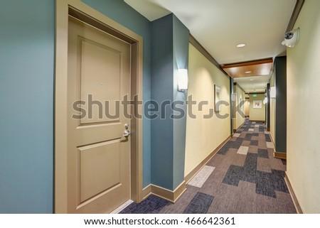 Apartment Building Hall