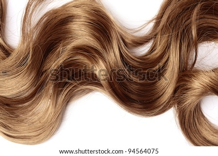 long brown hair as background