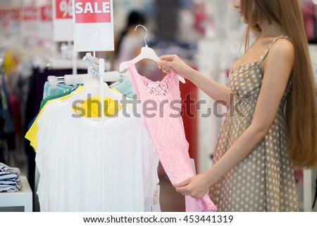 Pretty in pink clothing store