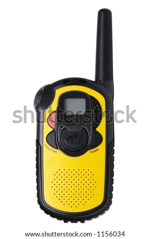 Long-Range Walkie Talkie - stock photo