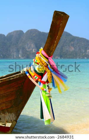 Longtail fishing boat, Thailand.