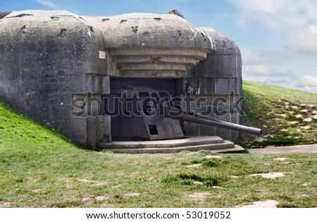 "Longues-sur-Mer is the only coastal defence battery on the Landing Beaches to be classed as a ""Historical Monument"""