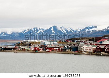 Longyearbyen - Svalbard - Norway - stock photo