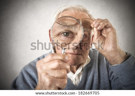 look - stock photo