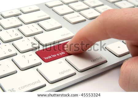 Look for a job concept - stock photo