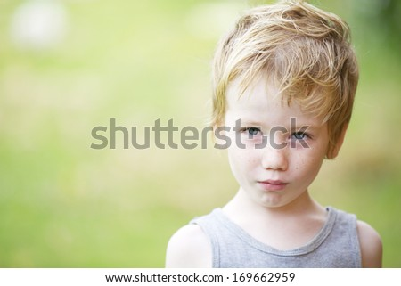 Looking determined. - stock photo