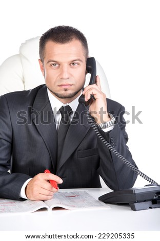 Looking for a job - stock photo