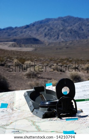 Looking for Direction - stock photo