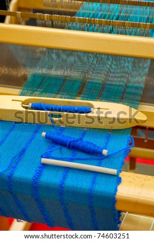 Loom - stock photo