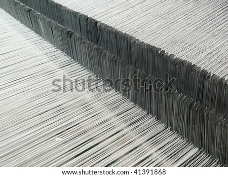 Loom for weaving - stock photo