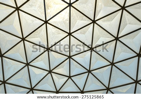 Loop Dome Climber fiberglass texture and background