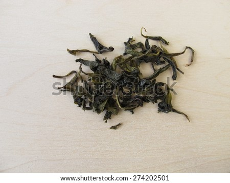 Loose ceylon royal silver white tea - stock photo