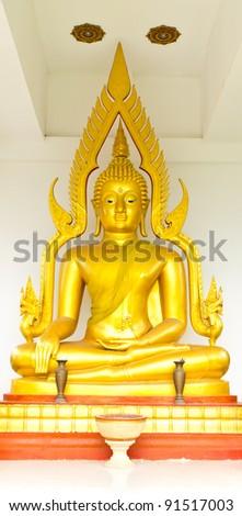 Lord Buddha, Hat-Yai, Songkhla, Thailand - stock photo