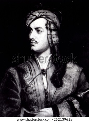 Lord Byron 1800's