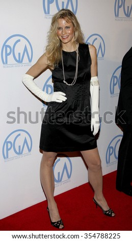 Lori Singer at the 22nd Annual Producers Guild Awards held at the Beverly Hilton hotel in Beverly Hills, California, United States on January 22, 2010.  - stock photo
