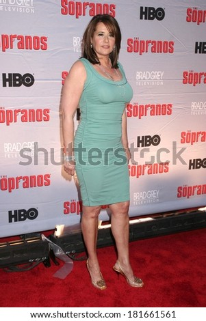 Lorraine Bracco at HBO's THE SOPRANOS World Premiere Screening, Radio City Music Hall at Rockefeller Center, New York, NY, March 27, 2007