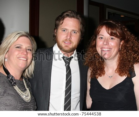 LOS ANGELES - APR 15:  AJ Buckley, and Event Guests attending the 2011 Toyota Grand Prix Charity Ball at Westin Long Beach on April 15, 2011 in Long Beach, CA. - stock photo
