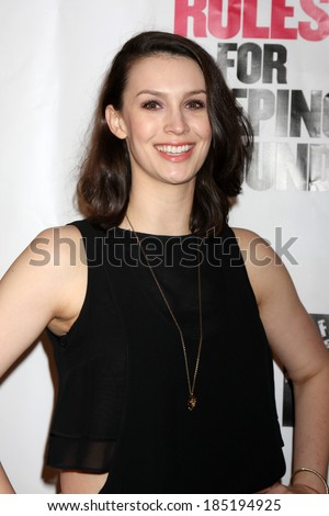 "LOS ANGELES - APR 1:  Alexandra Von Renner at the ""10 Rules for Sleeping Around"" Premiere at Egyptian Theater on April 1, 2014 in Los Angeles, CA"