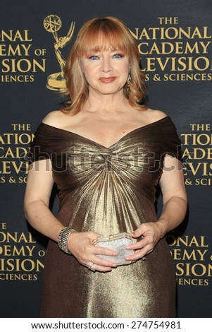 LOS ANGELES - APR 24: Andrea Evans at The 42nd Daytime Creative Arts Emmy Awards Gala at the Universal Hilton Hotel on April 24, 2015 in Los Angeles, California - stock photo