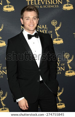 LOS ANGELES - APR 24: Chad Duell at The 42nd Daytime Creative Arts Emmy Awards Gala at the Universal Hilton Hotel on April 24, 2015 in Los Angeles, California - stock photo