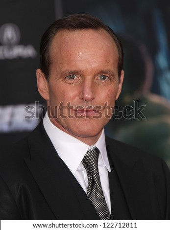 "LOS ANGELES - APR 11:  Clark Gregg ""The Avengers"" World Premiere  on April 11, 2012 in Hollywood, CA"