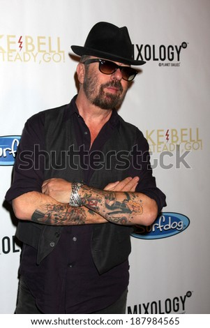 "LOS ANGELES - APR 17:  Dave Stewart at the  Drake Bell's Album Release Party for ""Ready, Set, Go"" at Mixology on April 17, 2014 in Los Angeles, CA"