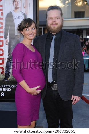 "LOS ANGELES - APR 13:  Elden Henson & Kira Sternbach arrives to the ""Neighbors"" World Premiere  on April 28, 2014 in Westwood, CA.                 - stock photo"