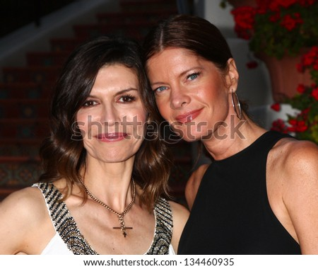 "LOS ANGELES - APR 4:  Finola Hughes, Michelle Stafford attends the gala fundraiser for the romantic comedy, ""The Bet"" at the Bacara Resort on April 4, 2013 in Santa Barbara, CA"