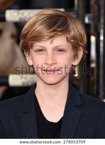 "LOS ANGELES - APR 06:  Floyd Herrinton arrives to the ""The Longest Ride"" Los Angeles Premiere  on April 06, 2015 in Hollywood, CA                 - stock photo"