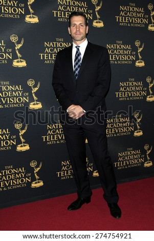 LOS ANGELES - APR 24: Frank Valentini at The 42nd Daytime Creative Arts Emmy Awards Gala at the Universal Hilton Hotel on April 24, 2015 in Los Angeles, California - stock photo