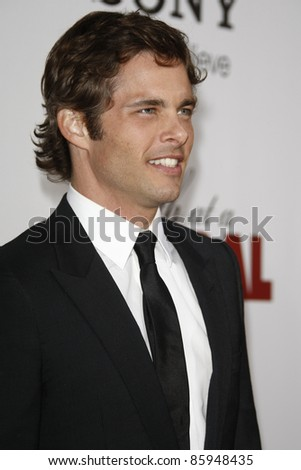 LOS ANGELES - APR 12: James Marsden at the World Premiere of 'Death At A Funeral' held at the Arclight Theater in Los Angeles, California on April 12, 2010