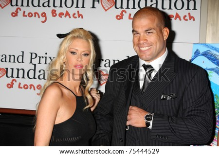 LOS ANGELES - APR 15:  Jenna Jameson, Tito Ortiz attending the 2011 Toyota Grand Prix Charity Ball at Westin Long Beach on April 15, 2011 in Long Beach, CA. - stock photo