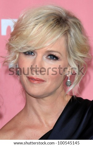 """LOS ANGELES - APR 19:  Jennie Garth arrives at her 40th Birthday Celebration & Premiere Party For """"Jennie Garth: A Little Bit Country"""" at The London Hotel on April 19, 2012 in West Hollywood, CA - stock photo"""