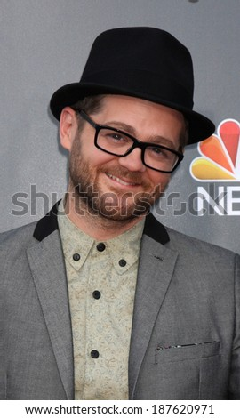 "LOS ANGELES - APR 15:  Josh Kaufman at the NBC's ""The Voice"" Season 6 Top 12 Red Carpet Event  at Universal City Walk on April 15, 2014 in Los Angeles, CA"