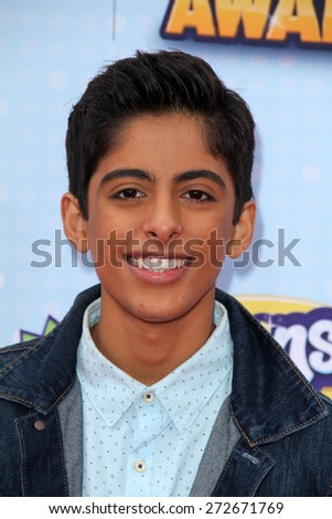 LOS ANGELES - APR 25:  Karan Brar at the Radio DIsney Music Awards 2015 at the Nokia Theater on April 25, 2015 in Los Angeles, CA