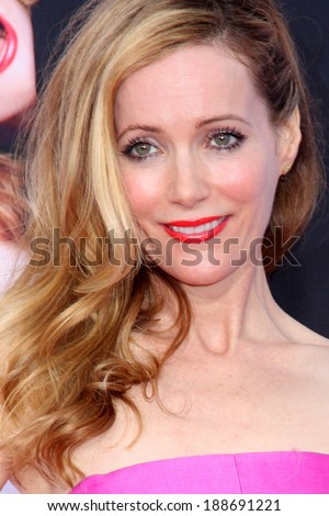 "LOS ANGELES - APR 21:  Leslie Mann at the ""The Other Woman"" Premiere at Village Theater on April 21, 2014 in Westwood, CA"