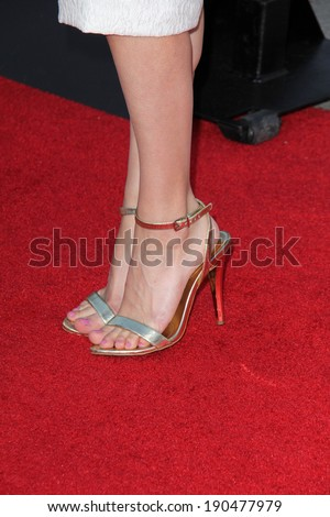 "LOS ANGELES - APR 28:  Lyndsy Fonseca at the ""Neighbors"" Premiere at Village Theater on April 28, 2014 in Westwood, CA"