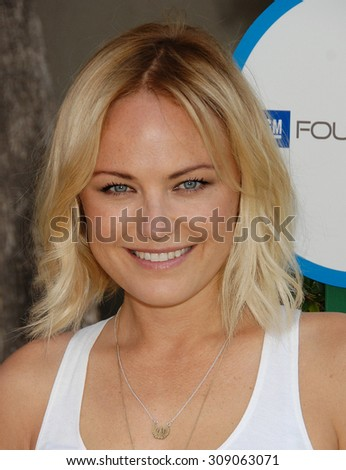 LOS ANGELES - APR 5:  Malin Akerman arrives at the SAFE KIDS EVENT  on April 5, 2014 in West Hollywood, CA                 - stock photo