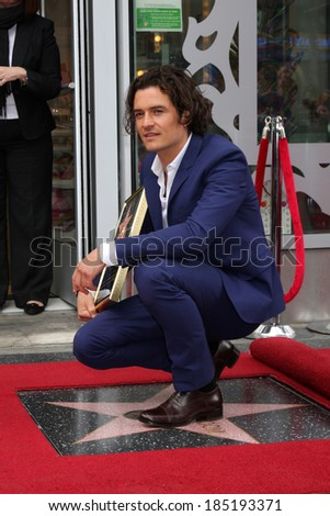 LOS ANGELES - APR 2:  Orlando Bloom at the Orlando Bloom Hollywood Walk of Fame Star Ceremony at TCL Chinese Theater on April 2, 2014 in Los Angeles, CA